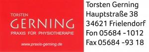 Praxis für Physiotherapie Torsten Gerning